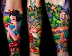 tatuagem-branca-neve-sete-anoes